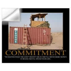 Commitment Motivational Wall Decal