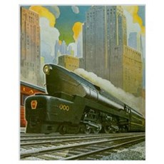 Penn RR Canvas Art