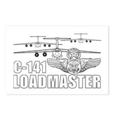C-141 Loadmaster Postcards (Package of 8)