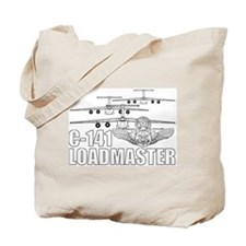 C-141 Loadmaster Tote Bag