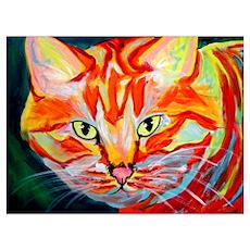 Cat #15 Poster