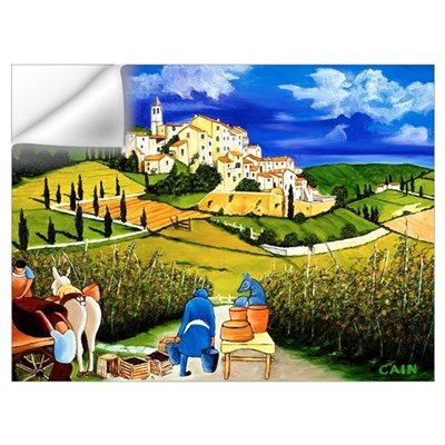 Harvest the Grapes Wall Decal