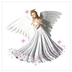 Angelic Glory Poster