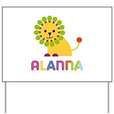 Alanna the Lion Yard Sign