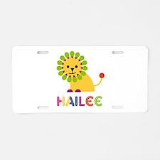 Hailee the Lion Aluminum License Plate