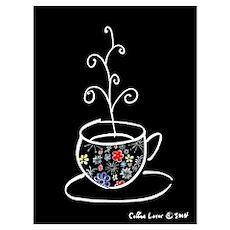 Night Coffee Poster