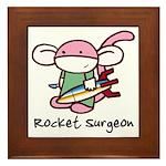 Rocket Surgeon Framed Tile