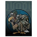 101st screamin eagle Wrapped Canvas Art