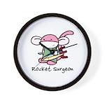 Rocket Surgeon Wall Clock