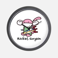 Rocket Surgeon Wall Clock