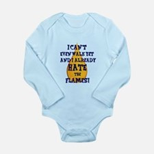 Funny Oilers edmonton Long Sleeve Infant Bodysuit