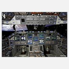 """Space Shuttle Cockpit 35"""" x 23"""""""