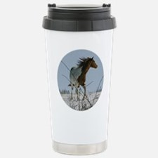 Snow Spirit Stainless Steel Travel Mug