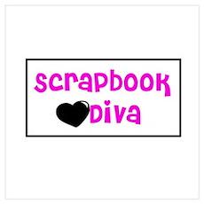 Scrapbook Diva Poster