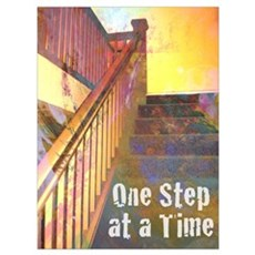 RECOVERY 12 STEPS Canvas Art