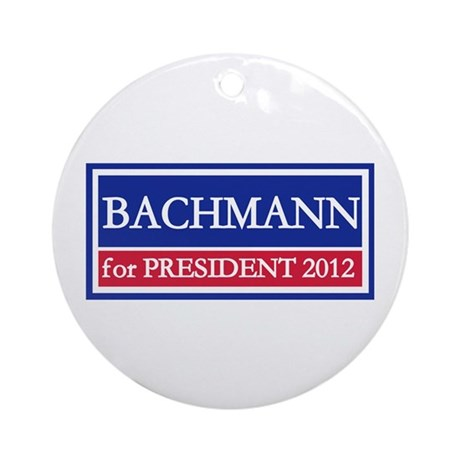 Bachmann for President 2012 Ornament (Round)