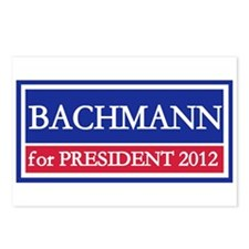 Bachmann for President 2012 Postcards (Package of
