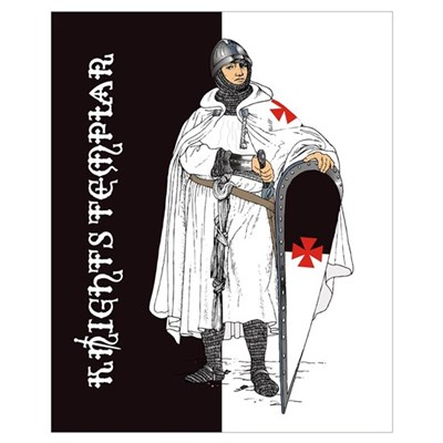 Knights Templar (16 X 20) Poster
