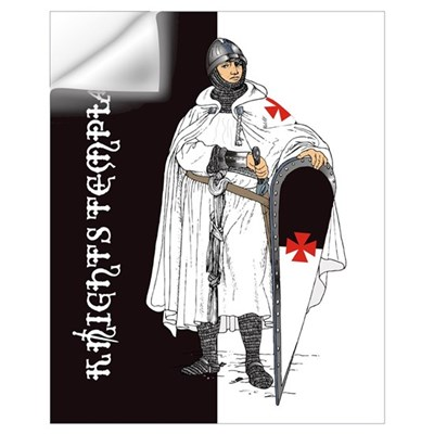 Knights Templar (16 X 20) Wall Decal