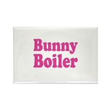 Cute The mad bunny Rectangle Magnet