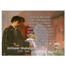 Hamlet Famous Soliloquy Poster