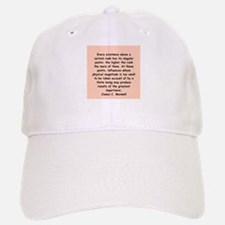 james c maxwell Baseball Baseball Cap