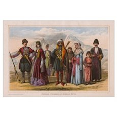 Caucasus's People Framed Print