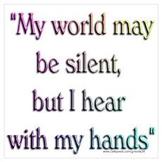 Silent World Poster