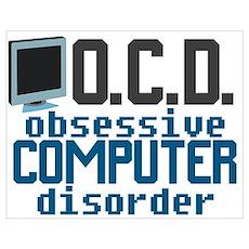 Funny Computer Nerd Poster