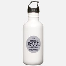 Testicular Cancer Survivor Water Bottle