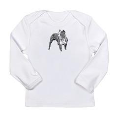 Pitbull greys Long Sleeve Infant T-Shirt