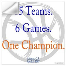 One Champion BBall 07-a Wall Decal