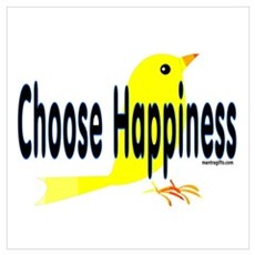 Happiness Choice Poster
