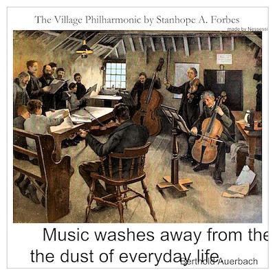Village Philharmonic Poster