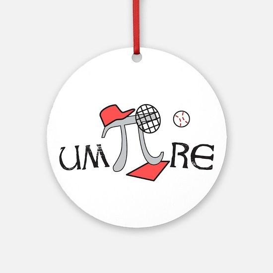 Funny um-Pi-re Ornament (Round)
