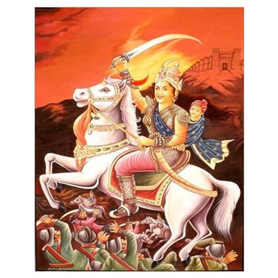 Jhansi Rebel Queen Un Poster