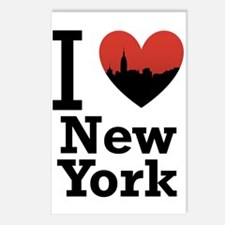 I love New York Postcards (Package of 8)