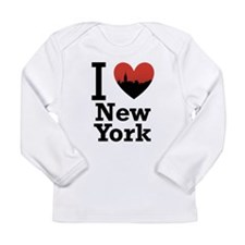 I love New York Long Sleeve Infant T-Shirt