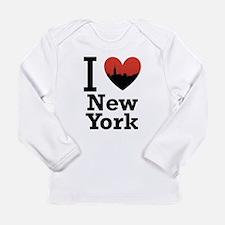 I love New York Long Sleeve Infant T-Shirt