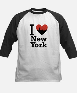 I love New York Kids Baseball Jersey