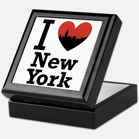 I love New York Keepsake Box