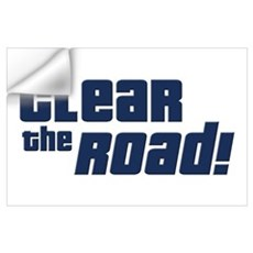 Clear the Road 16th Birthday Wall Decal