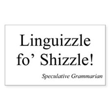 SpecGram Linguizzle Rectangle Decal
