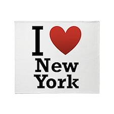 I love New York Throw Blanket