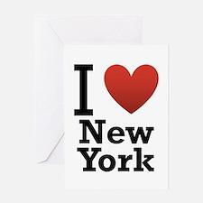 I love New York Greeting Card