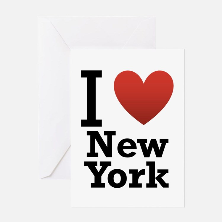 I love New York Greeting Card