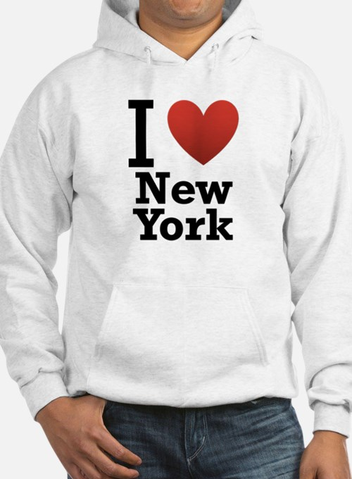 I love New York Hoodie Sweatshirt