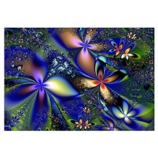 Wildflowers Canvas Art