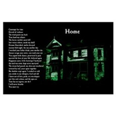 """""""Home"""" Poetic Print Poster"""