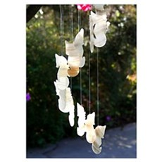 14x10 Seahorse Wind Chime Poster
